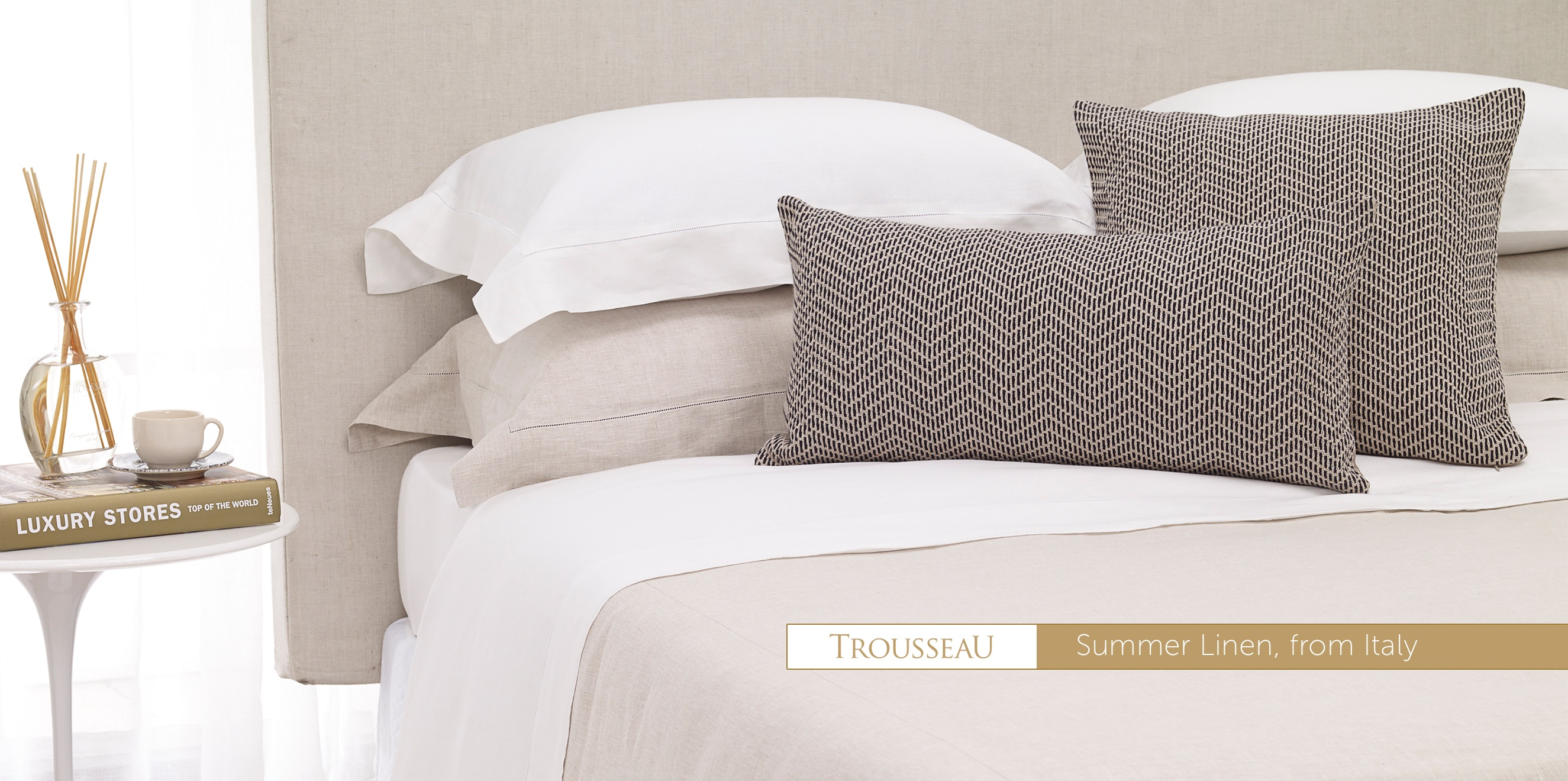 Luxurious linen from Italy