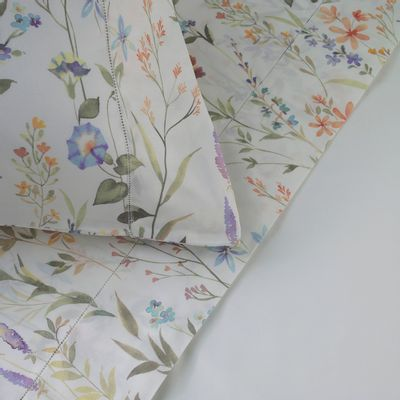 0104016060_123_2-BOUQUET-PILLOWCASE--PAIR--50X106